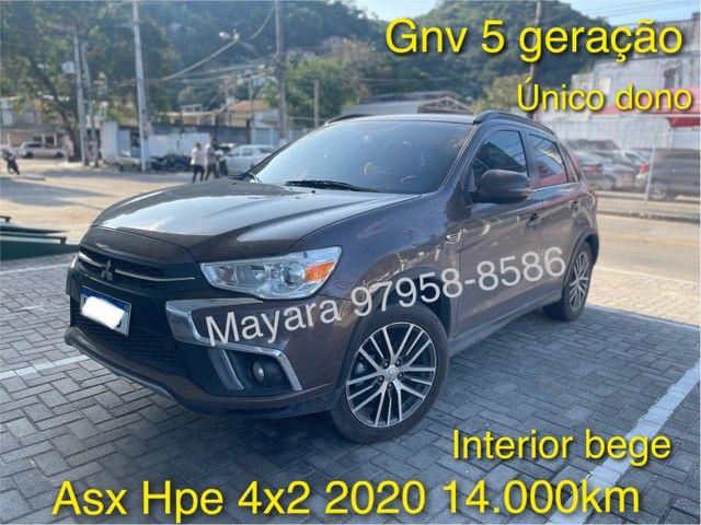 Mitsubishi Asx 2020 HPE 14.000km GNV único dono