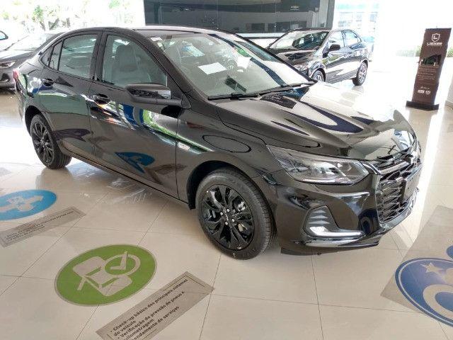 Onix Plus Sedan Premier Midnight Turbo / 0km-2021 - Foto 4