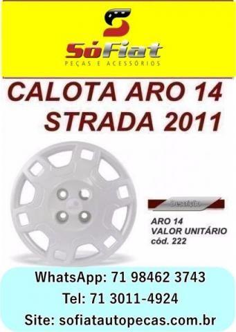 Strada/Calota Aro 14 /11,Fiat; para fiat novo