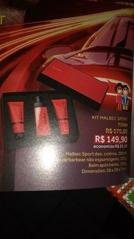 Kit Malbec Sport Boticário