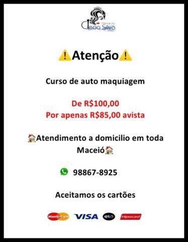 Curso de auto maquiagem R$85,00