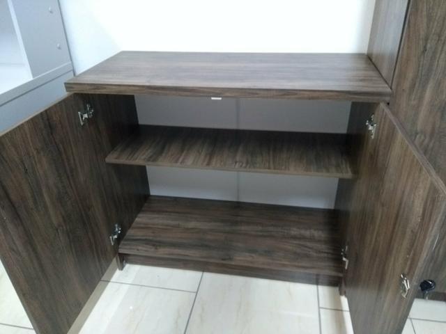 Conjunto móveis escritório Novos revenda de fábrica - Foto 3