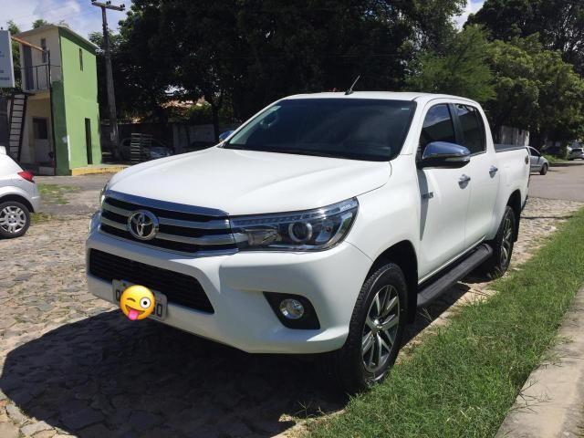 Toyota Hilux SRX 2017 único dono diesel IMPECÁVEL!!! - Foto 5