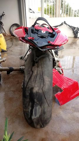 Moto P/ Retirada De Peças / Sucata Ducati Panigali 1199 Ano 2015 - Foto 5