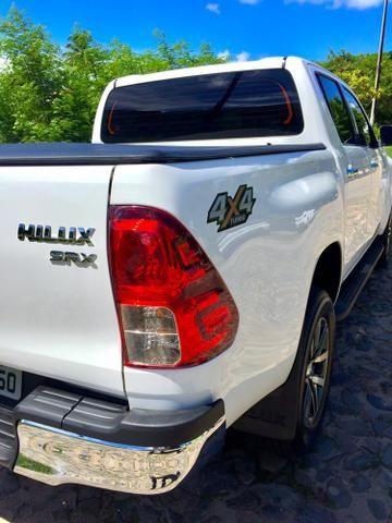 Toyota Hilux SRX 2017 único dono diesel IMPECÁVEL!!! - Foto 11