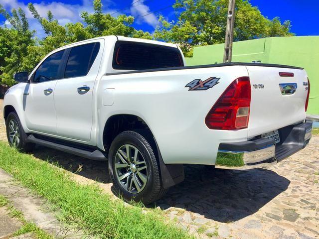 Toyota Hilux SRX 2017 único dono diesel IMPECÁVEL!!! - Foto 10
