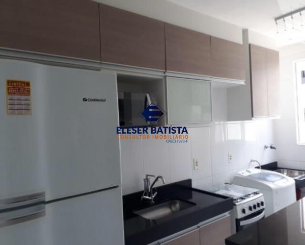 Apartamento à venda com 2 dormitórios em Colina de laranjeiras, Serra cod:AP00067 - Foto 2