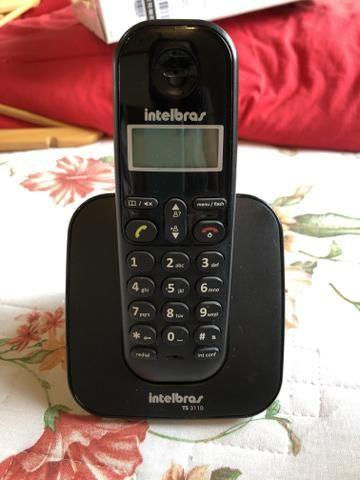 Telefone com identificador chamadas sem fio