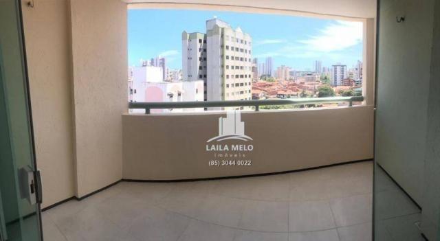 Apartamento residencial à venda com 03 suítes, Papicu, Fortaleza. - Foto 8