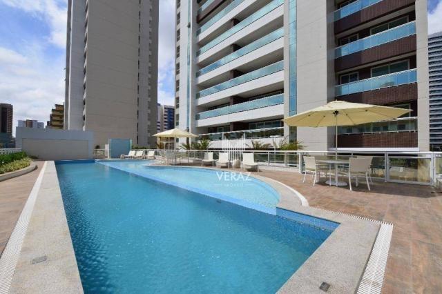 Apartamento com 4 dormitórios à venda, 152 m² por r$ 1.400.000,00 - varjota - fortaleza/ce - Foto 14