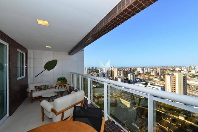 Apartamento com 4 dormitórios à venda, 152 m² por r$ 1.400.000,00 - varjota - fortaleza/ce