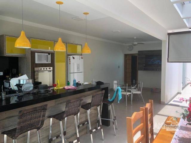 Casa de alto padrão com 3 dormitórios à venda, 198 m² por R$ 600.000 - Residencial Atlânti - Foto 8