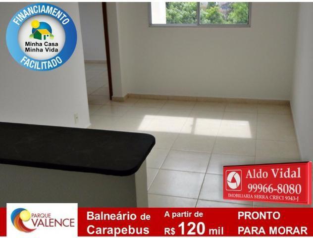 ARV143- Apto 2Q Entrada 0 no M.Casa Minha Vida, Próximo as Praias da Serra - ES - Foto 3