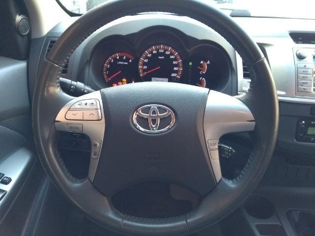 Hilux SRV 3.0 Aut Cab Dupla 4x4 Diesel 2013 - Foto 10