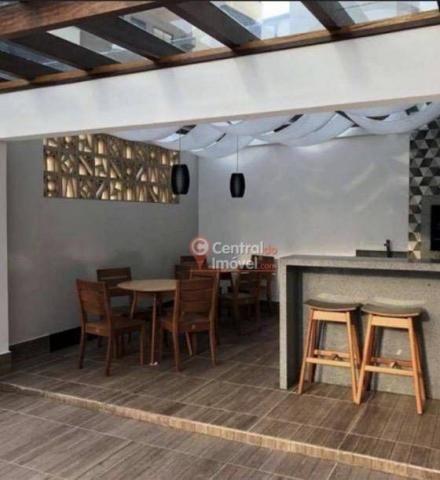 Apartamento com 3 dormitórios para alugar, 131 m² por R$ 500,00/dia - Centro - Balneário C - Foto 14