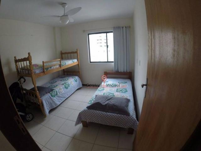 Apartamento com 3 dormitórios para alugar, 131 m² por R$ 500,00/dia - Centro - Balneário C - Foto 10