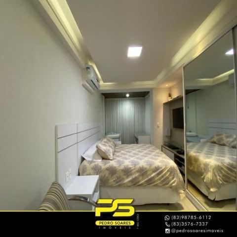 Apartamento com 3 dormitórios à venda, 118 m² por R$ 460.000 - Manaíra - João Pessoa/PB - Foto 4