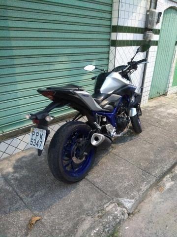 Yamaha MT 03 2017 único dono - Foto 2