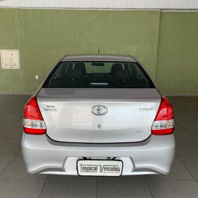 Toyota Etios Automático X 1.5 2018 Completo!!! - Foto 8