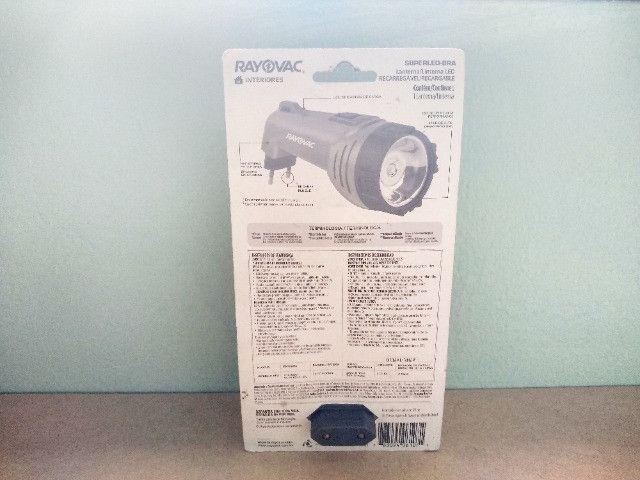 Lanterna SuperLed Recarragável tamanho médio com Garantia Vitalícia - Foto 3