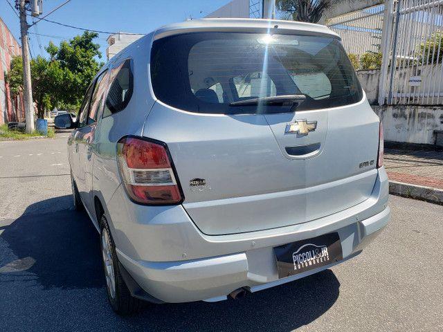 Chevrolet Spin 1.8 LT 5 Lugares vendo troco e financio R$  - Foto 8