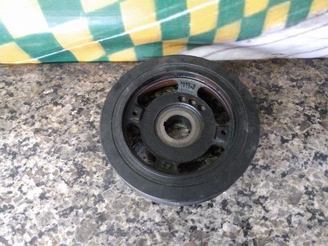 Polia do virabrequim Renault Logan Sandero 1.6 16v 2018 - Foto 2