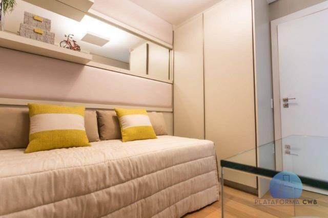 Apartamento com 2 dormitórios à venda por R$ 780.700,00 - Mercês - Curitiba/PR - Foto 17