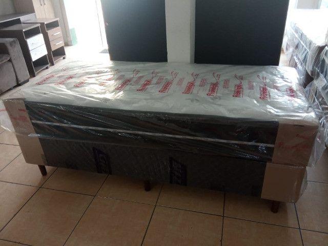 Conjunto box solteiro D-33 molas ensacadas - Foto 2