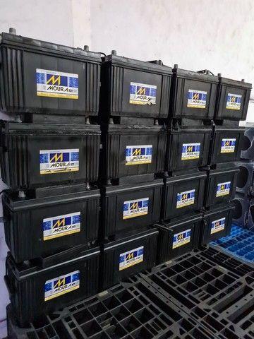 Baterias semi novas de 100ah muito novas.  - Foto 3