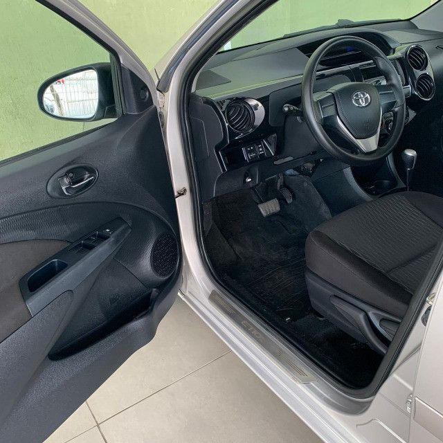 Toyota Etios Automático X 1.5 2018 Completo!!! - Foto 11