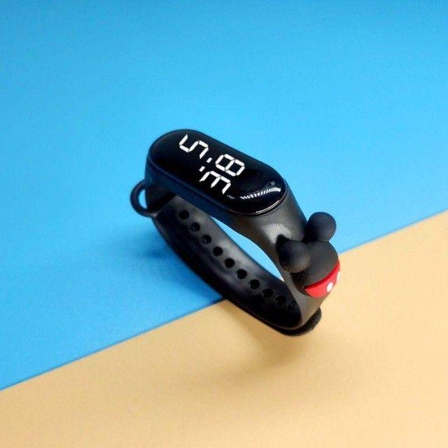 Relógio Digital Led Infantil - Foto 4