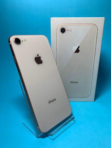 iPhone 8 64Gb Gold Rose Seminovo  - Foto 2