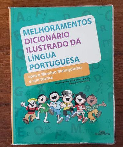 Melhoramentos Dicionário Ilustrado da Língua Portuguesa - Novo