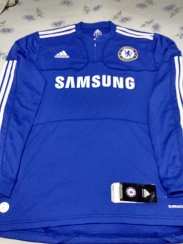 Camisa Adidas Chelsea Temporada 09 10 Tamanho G Original Climacool ... 3f09bd2760051