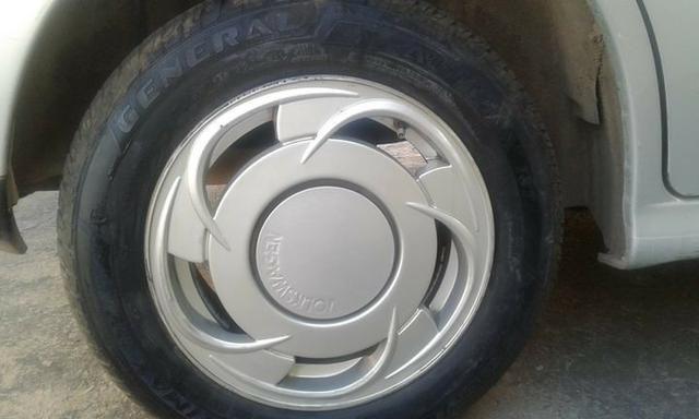 Rodas 14 orbital c pneus novos em outras rodas