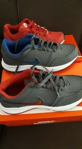Tenis Novo Caixa Nike e Polo Masc e Fem