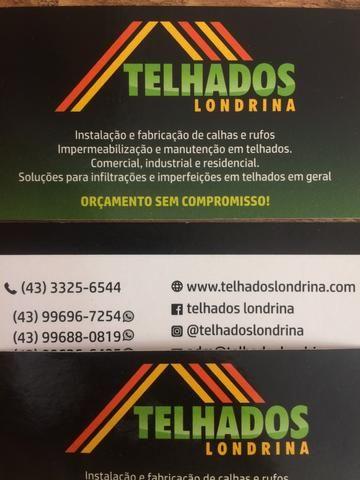 Calhas e rufos, Telhados Londrina