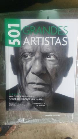 Livro 501 grandes artistas