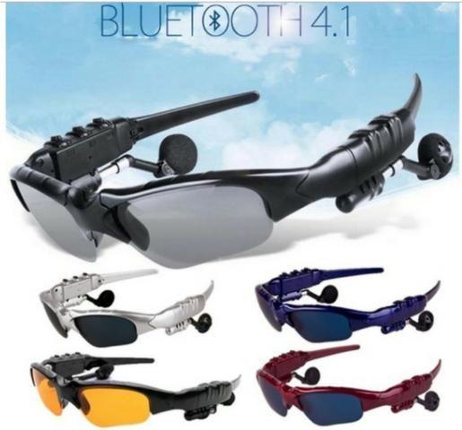 Óculos De Sol Fone De Ouvido Mp3 Via Bluetooth