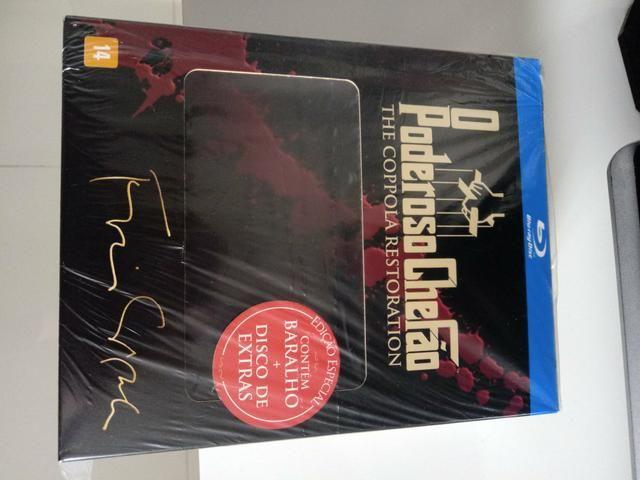 Poderoso Chefão Trilogia Blu Ray Edição Especial