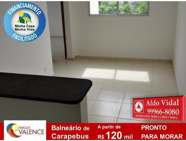 ARV142- Zero do Entrada, em Praia Balneário Carapebus com M.Casa Minha Vida. - Foto 3