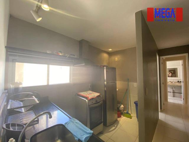 Apartamento com 2 dormitórios para alugar, 72 m² por R$ 2.700,00/mês - Porto das Dunas - A - Foto 15