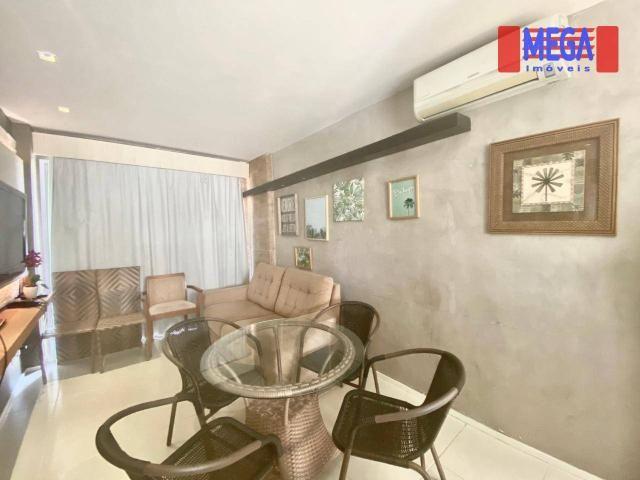 Apartamento com 2 dormitórios para alugar, 72 m² por R$ 2.700,00/mês - Porto das Dunas - A - Foto 8