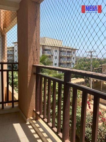 Apartamento com 2 dormitórios para alugar, 72 m² por R$ 2.700,00/mês - Porto das Dunas - A - Foto 16