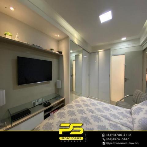 Apartamento com 3 dormitórios à venda, 118 m² por R$ 460.000 - Manaíra - João Pessoa/PB - Foto 7