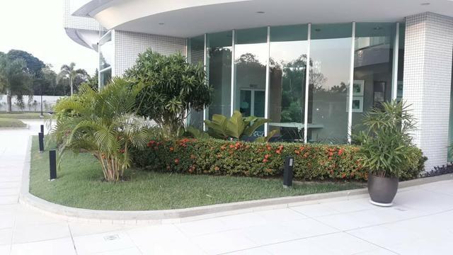 Cond Ilha Bela lindo apart 3 suítes mobiliado andar alto - Foto 15