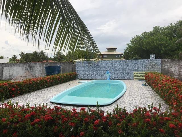 Aluguel casa na ilha com piscina - vera cruz/ba - barra do gil
