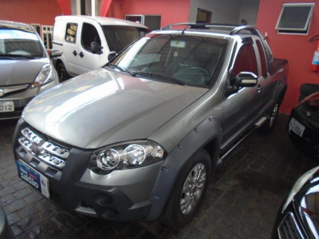 Fiat Strada Adventure Locker 1.8 Cinza - Foto 5
