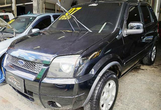 Ford Ecosport XLT 1.6 c/GNV 2007 Completo - Foto 3