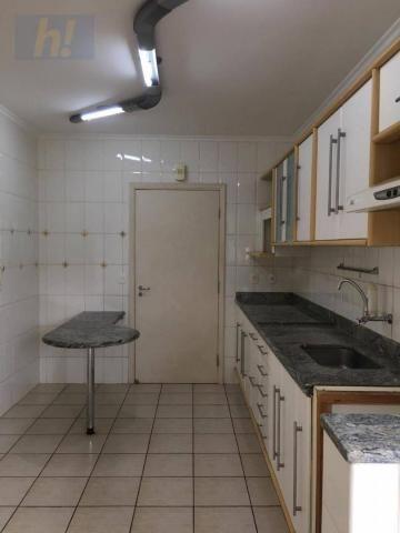 Apartamento com 3 dormitórios para alugar, 129 m² por R$ 1.500/mês - Vila Nossa Senhora de - Foto 7